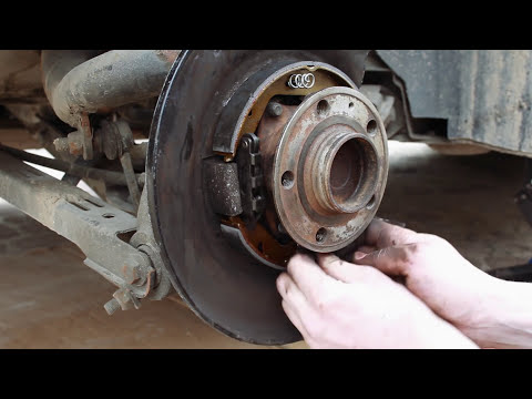 Volvo parking brake service | cleaning | replacing | S80 | V70 II | S60