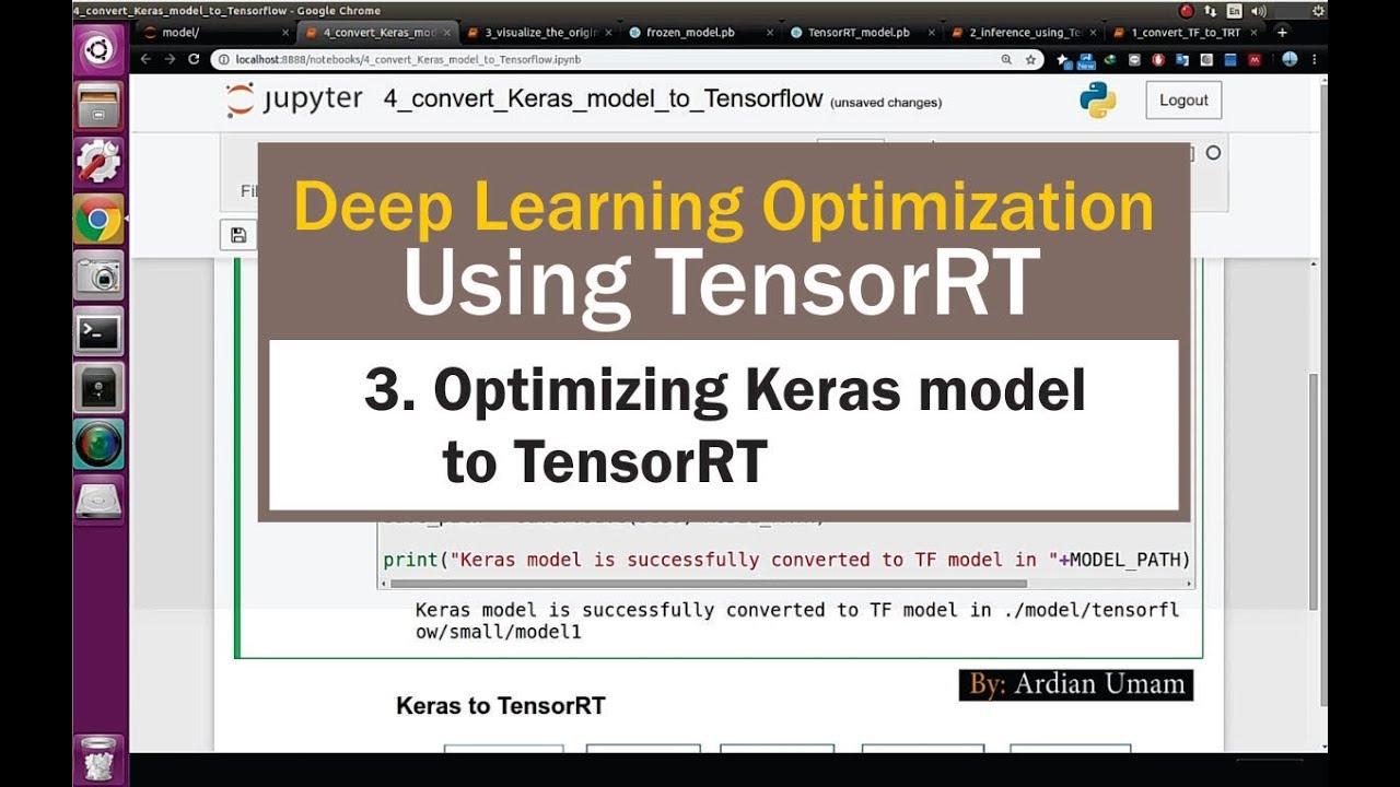 03 Optimizing Keras Model to TensorRT