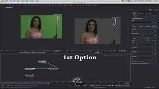 keying & Masking for Ultra key user - Blackmagic Fusion - Basic Tutorial for Beginners
