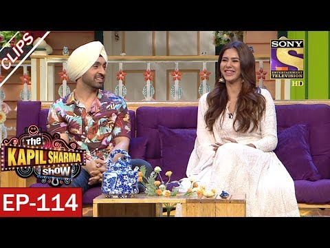 Kapil Introduces Diljit Dosanjh and Sonam Bajwa - The Kapil Sharma Show - 17th Jun, 2017