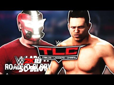WWE 2K18 Road To Glory Mode - First Main Event PPV! WWE TLC vs The Miz!