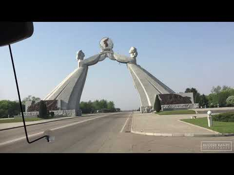 Travelling through North Korea / DPRK (RAW Footage)