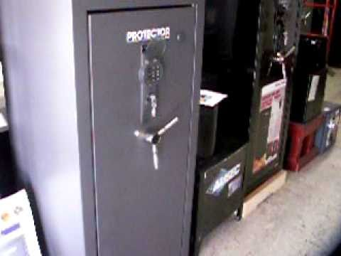 First Alert Rifle Safes - YouTube