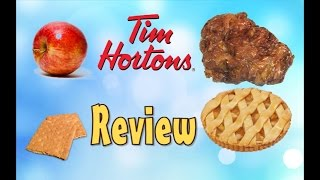 """♥tim Horton """"new"""" Apple Pie Fritter Review♥-sep 11th 2015"""