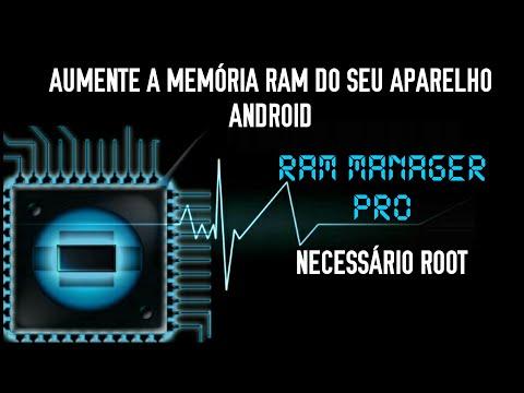 Como Aumentar A Memória RAM Com ROOT (baixar, Instalar E Configurar O RAM MANAGER PRO No ANDROID)