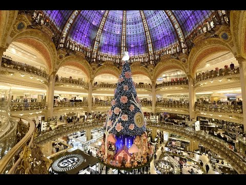 Paris'te Alisveris    Le Printemps /Galeries Lafayette /Marionnaud