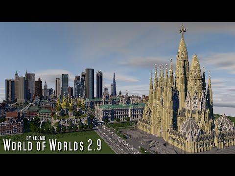 Minecraft | World of Worlds 2.9