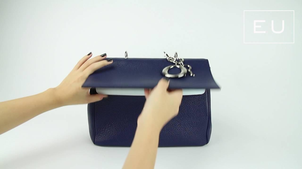 f21e6c03fc1 Bolsa Christian Dior Be Dior Azul