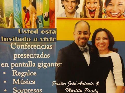 tema 5 pastor Jose Antonio Pagan en la iglesia de Irving
