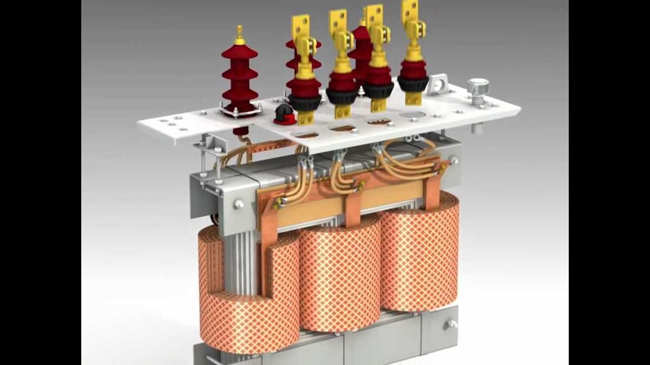 Construction of Siemens's Oil Distribution Transformer