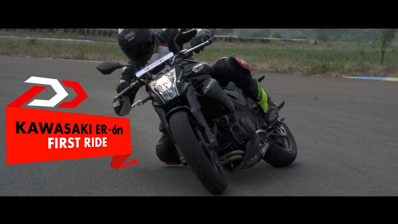 Kawasaki ER 6n : First Impressions : PowerDrift - YouTube