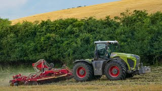 Claas Xerion 4500 Trac VC + Vaderstad Carrier 925 XL + Biodril 360 - Želovce SK