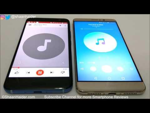 HTC U11 vs Huawei Mate 9 - Speaker Test and Comparison