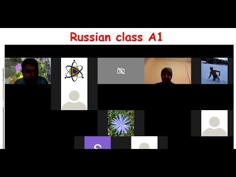Russian class on Markintravel (18.02.2021)