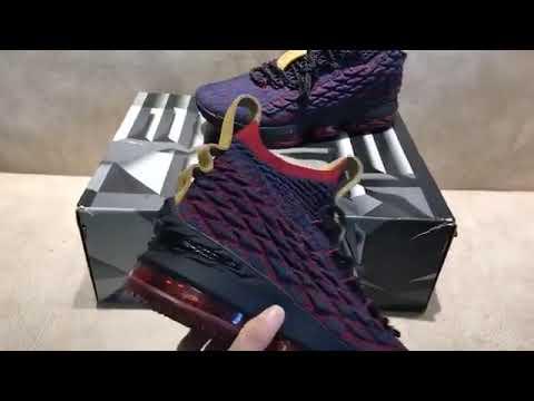 d6d1f1910f8 Nike LeBron 15 New Heights Dark Atomic Teal Ale Brown Team Red 897648