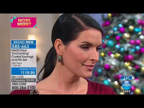 HSN | Heidi Daus Fashion Jewelry Gifts 12.07.2017 - 04 PM