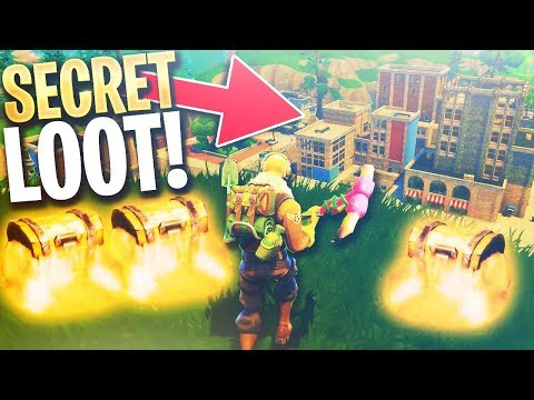 *NEW* MAP GAMEPLAY in Fortnite Battle Royale! - 😍 (SECRET CHESTS + BEST LOOT LOCATIONS)