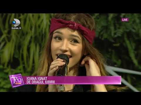 Teo Show (06.09.2018) - Ioana Ignat, celebra artista din Botosani, din nou in topurile muzicale!