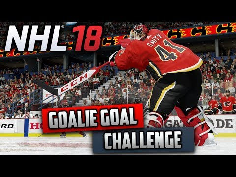 Can I Score A Goal With A Goalie? (NHL 18 Challenge)