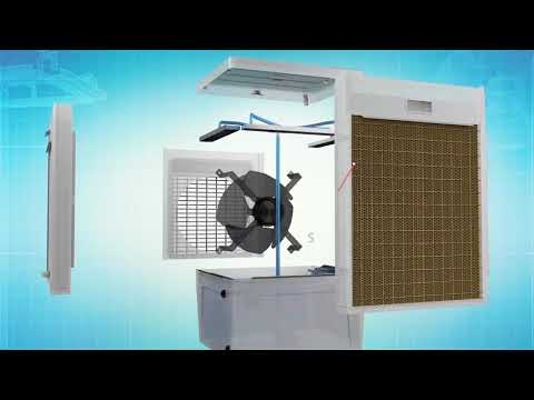 Orient DesertStorm – India's first Modular air cooler