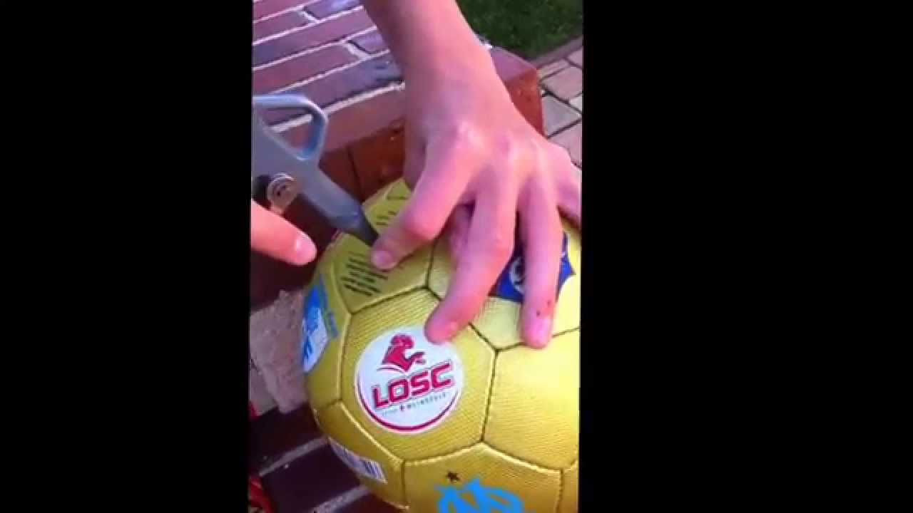 Comment gonfler un ballon sans pointe youtube - Gonfler ballon sans helium ...