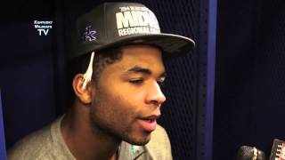 Kentucky Wildcats TV: Andrew Harrison and Alex Poythress - Michigan Postgame