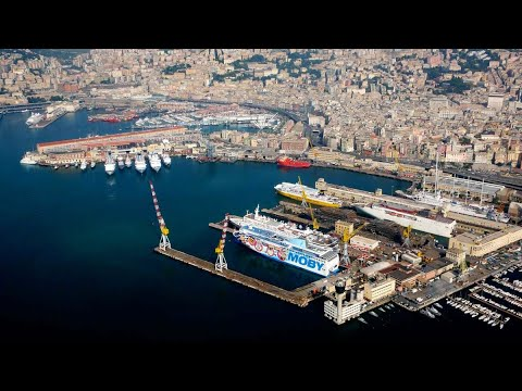 Port of Genoa, Genoa, Liguria, Italy, Europe