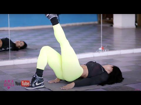 NALGAS BONITAS EN 8 MINUTOS 3 EJERCICIOS EN CASA - ANA MOJICA VIDEO