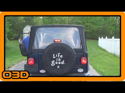 Project 2004 Jeep TJ Third Brake Light and Parking Light Repair
