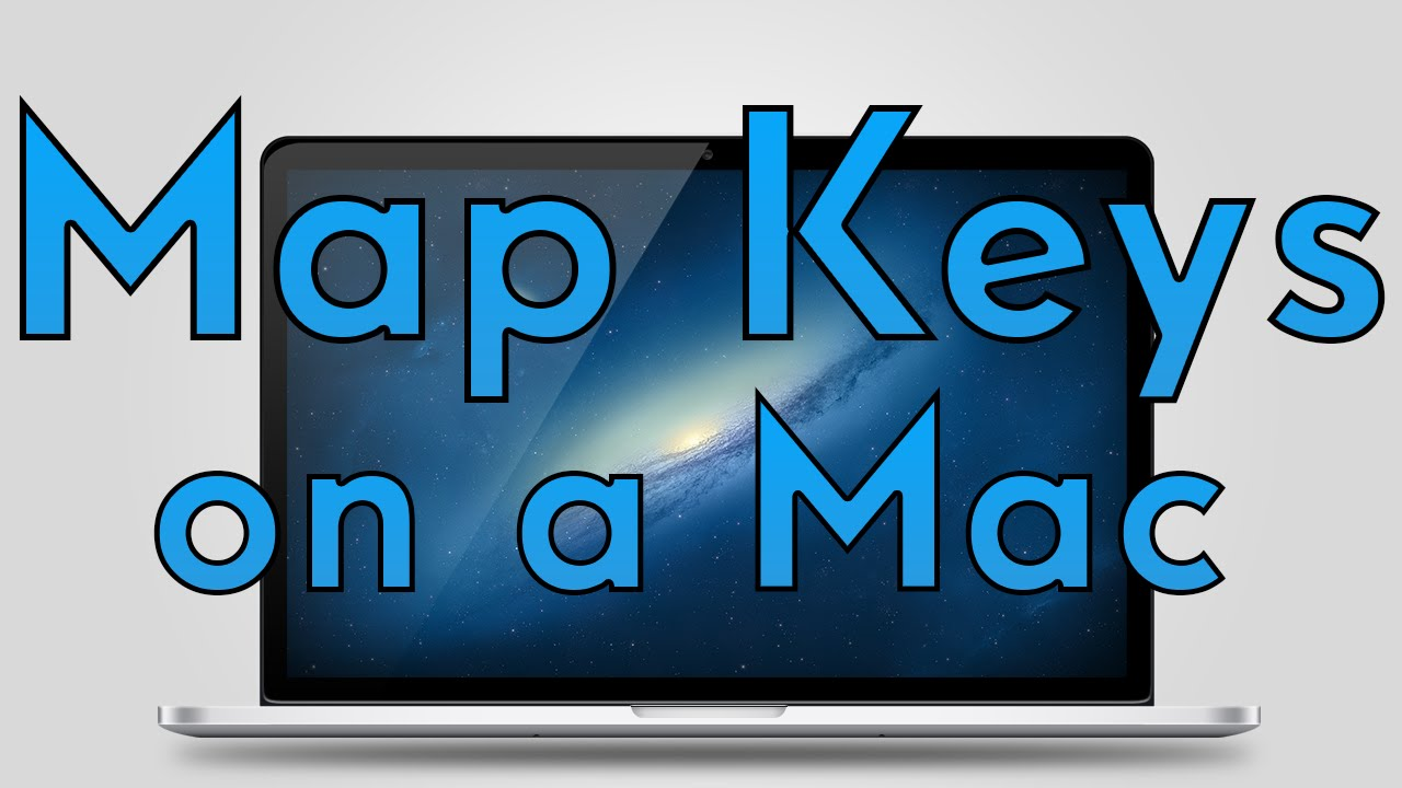 How to Map Remap Keyboard Keys on a Mac  YouTube