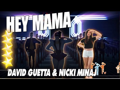 🌟 Hey Mama - David Guetta ft  Nicki Minaj | Just Dance 2016 🌟