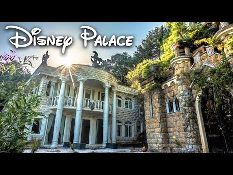 Abandoned Portuguese millionaire's MEGA mansion with private Disney castle (UNBELIEVABLE)