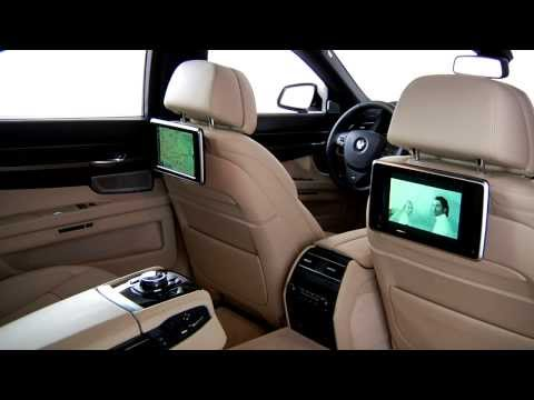 7 Series Rear Seat Entertainment | BMW Genius How-To