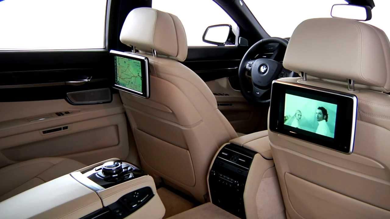 7 Series Rear Seat Entertainment  BMW Genius HowTo  YouTube