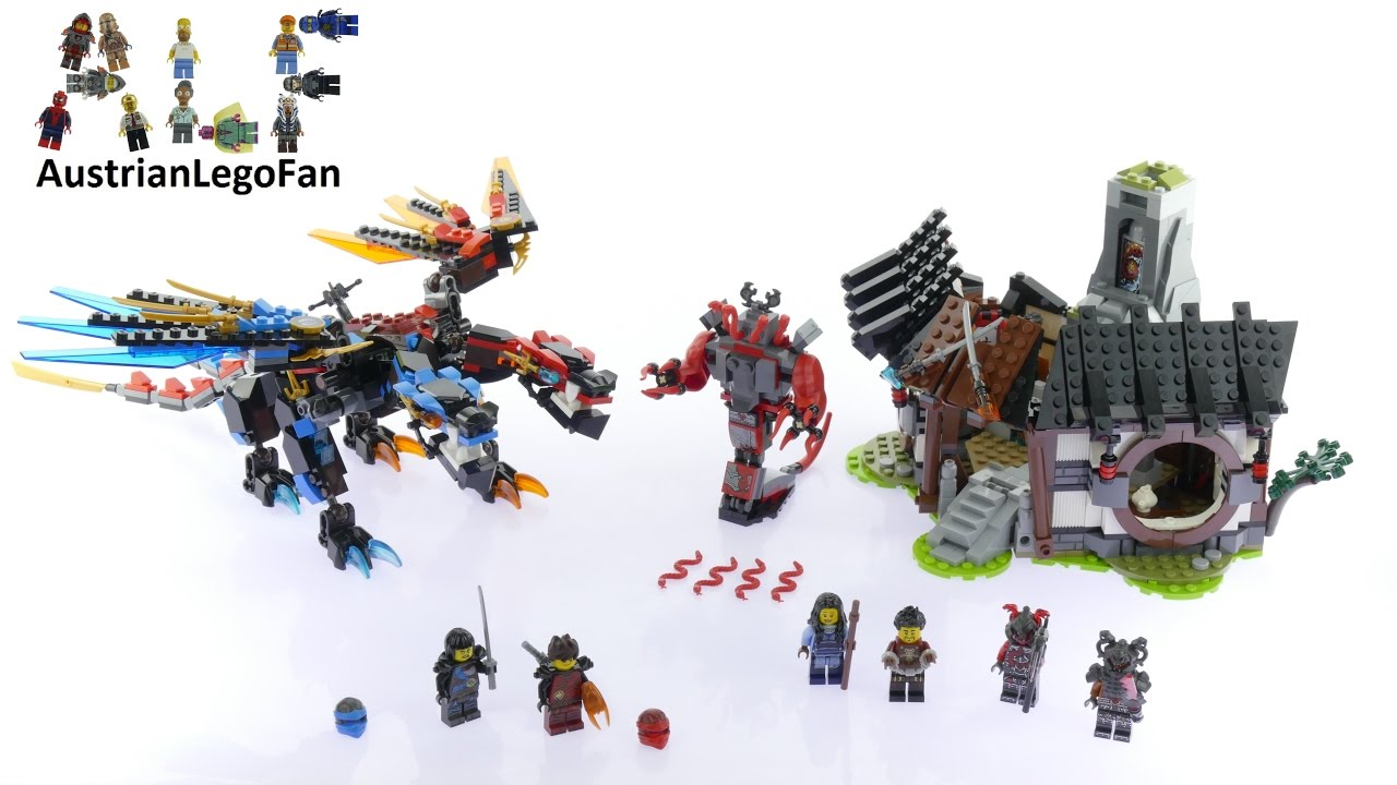 LEGO Ninjago Jungle Dragon 71746 ⏩ Speed Build
