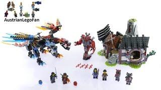 Lego Ninjago 70627 Dragon´s Forge - Lego Speed Build Review