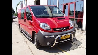 как сделать кенгурятник на Renault Trafic Opel Vivaro Nissan primastar