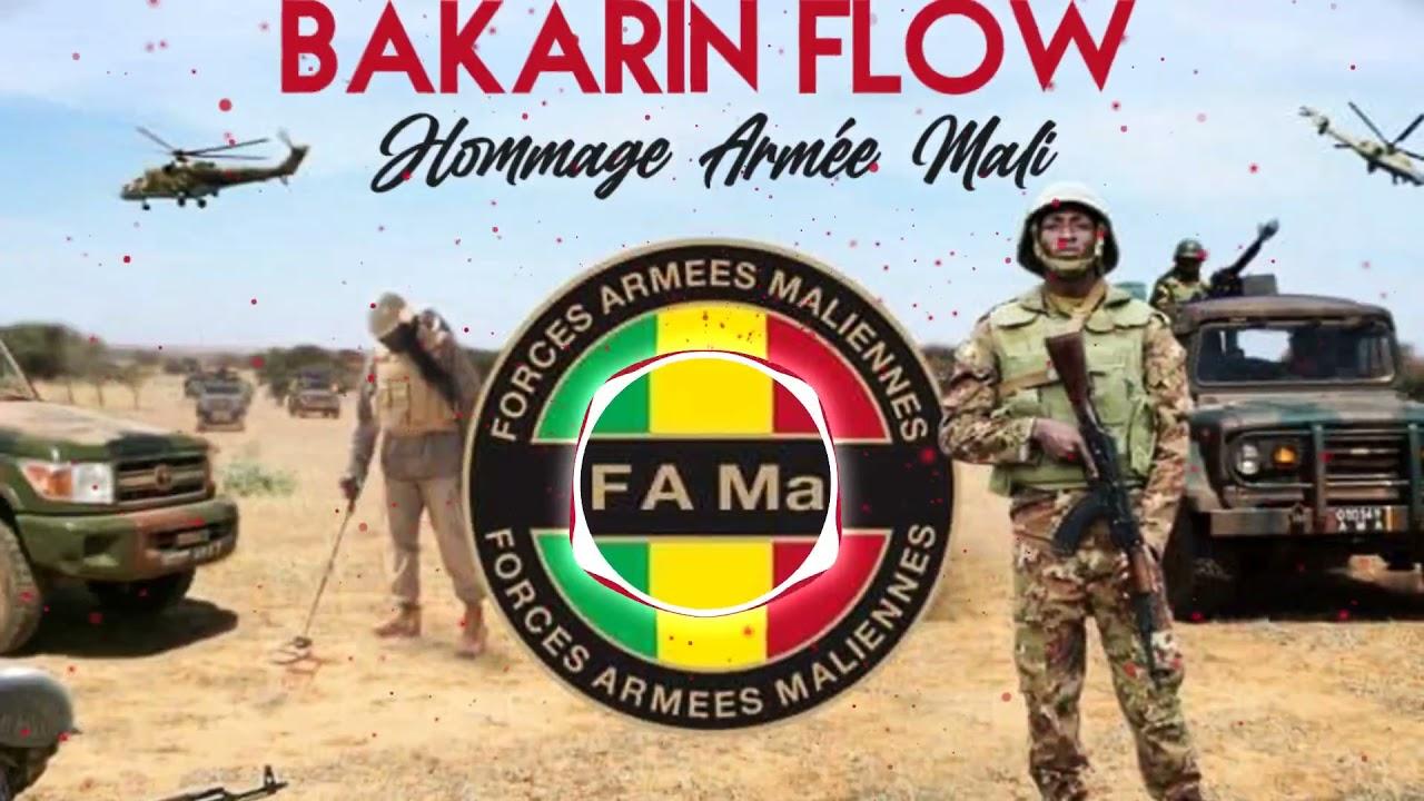 BAKARIN FLOW - HOMMAGE ARMÉE MALI (Officiel 2021)