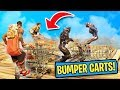 PLAYING BUMPER CARTS AT *MAX HEIGHT!* | Fortnite Battle Royale Custom Games