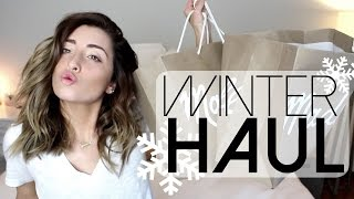 WINTER CLOTHING HAUL!