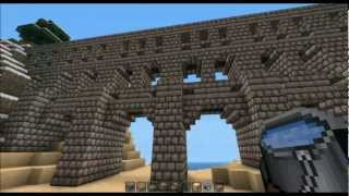 Aqueduct & Roads - Minecraft Building Tutorial