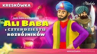 AliBaba i Czterdziestu Rozbójników bajki dla dzieci po Polsku | Bajka i kreskówka na Dobranoc
