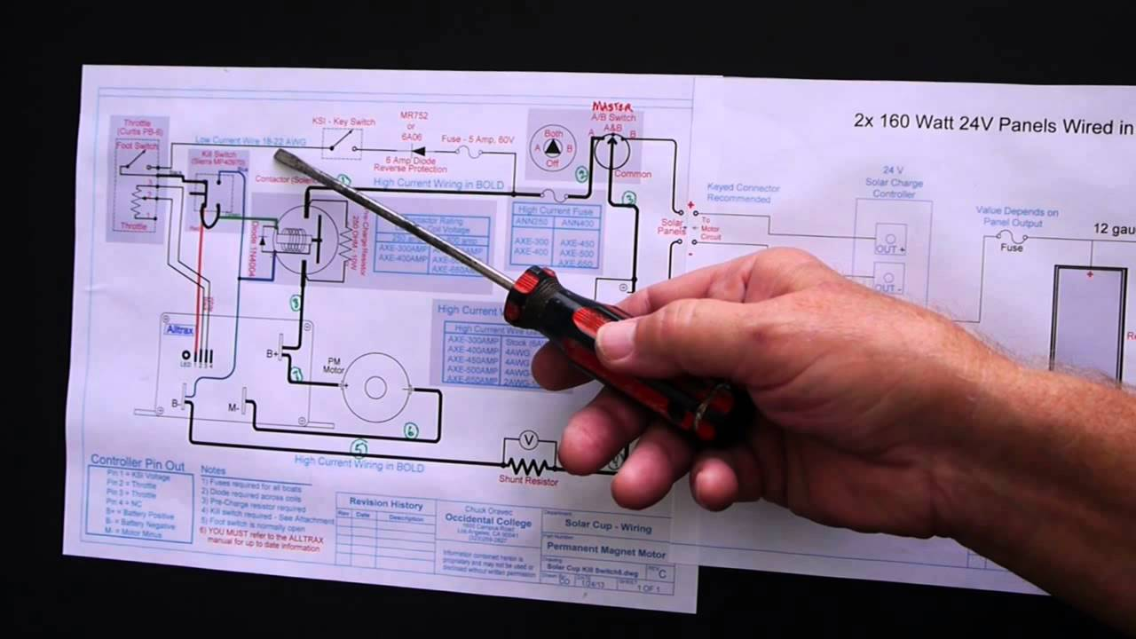 Solar Cup Electrical System Detailed Instructions Youtube Wiring Schematic