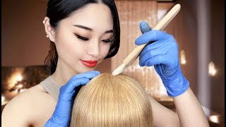 [ASMR] Relaxing Hair Dye Treatment