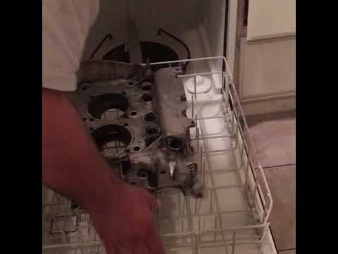 How to clean a Vw engine