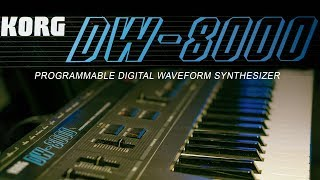 Korg DW-8000 | A spectacular hybrid synth | 64 new patches download