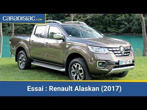 Essai – Renault Alaskan 2017 : le pick-up qui veut faire de l'ombre aux SUV