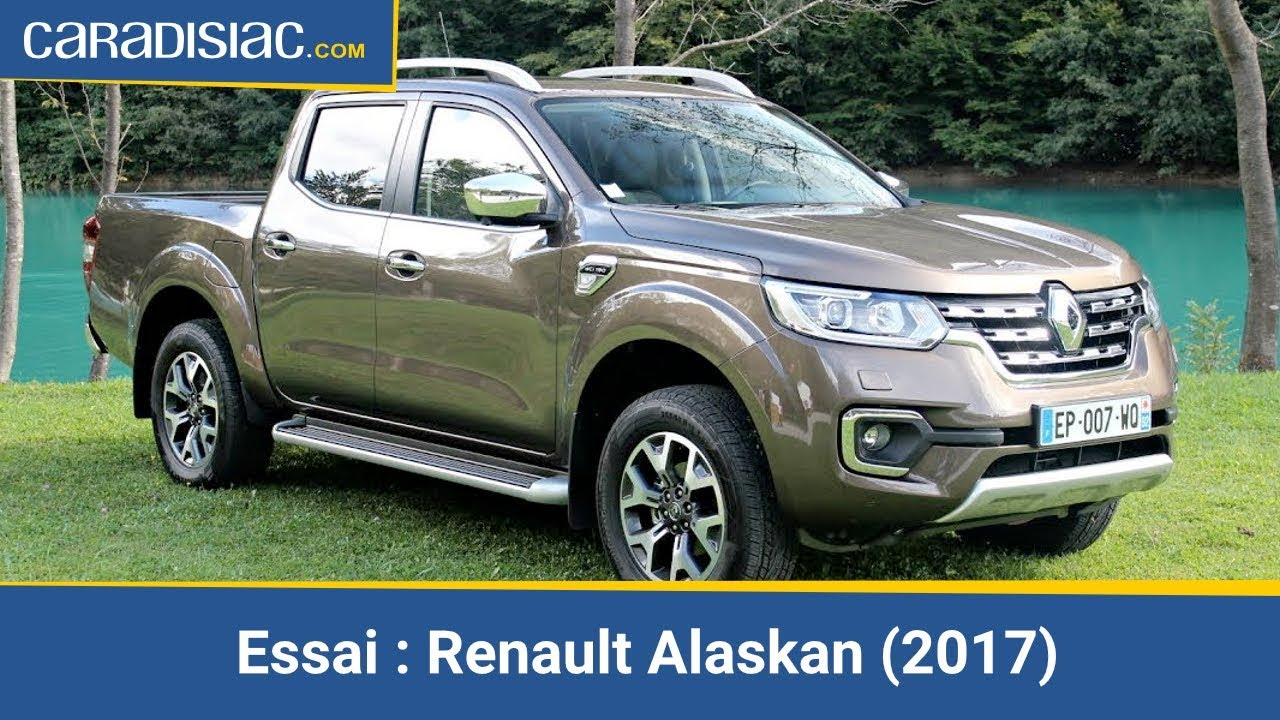 essai renault alaskan 2017 le pick up qui veut faire de l 39 ombre aux suv youtube. Black Bedroom Furniture Sets. Home Design Ideas