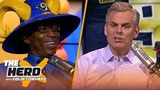Eric Dickerson & Colin Cowherd discuss the Rams