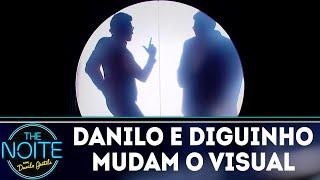 Baixar Danilo e Diguinho mudam o visual no salão do Jassa | The Noite (01/08/18)